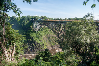 Victoria Falls Bridge in Zimbabwe