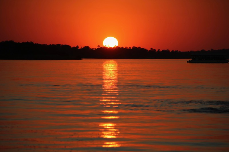 sunset - Zambezi National Park