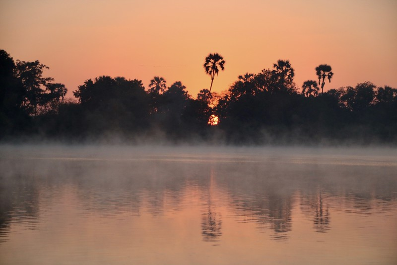 sunrise cruise Zambezi River