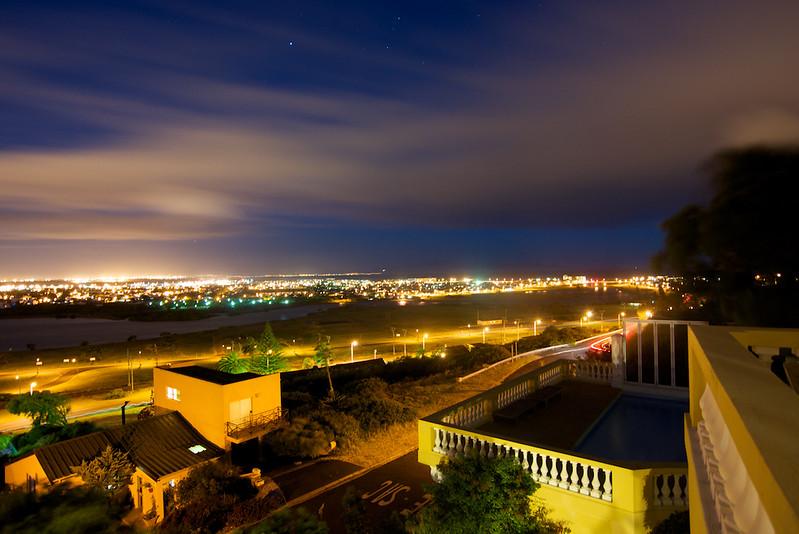 False Bay at night