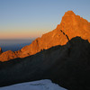 Main summit of Mount Kenya
