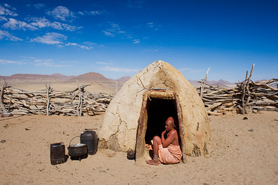 Himba Tribe, Skeleton Coast, Namibia