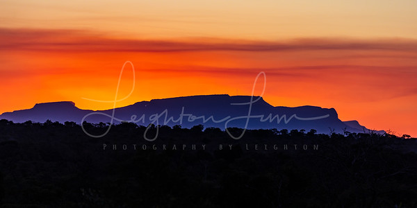 Sunset over Sabi Sands