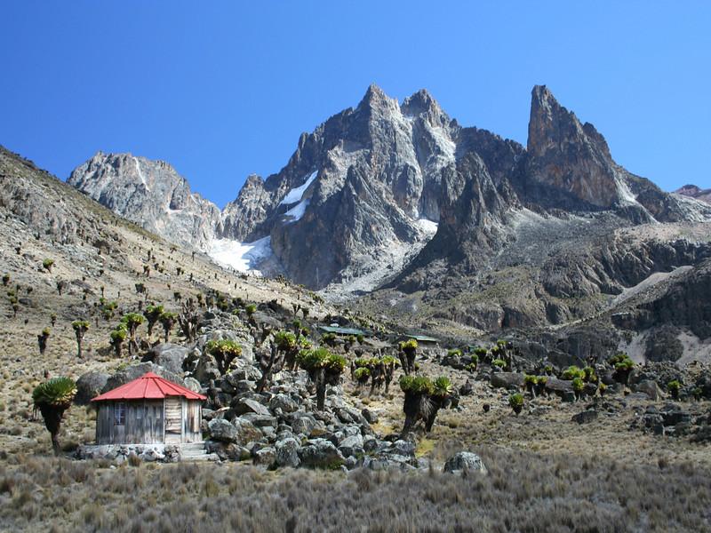 Rangers Station on Mount Kenya