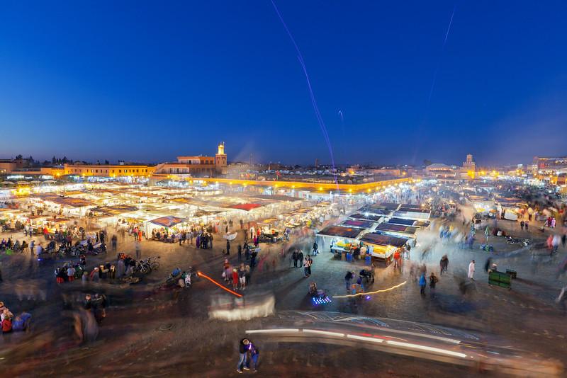 Morocco, Marrakesh - Jemaa el Fna