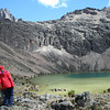 One of the lakes of Mount Kenya