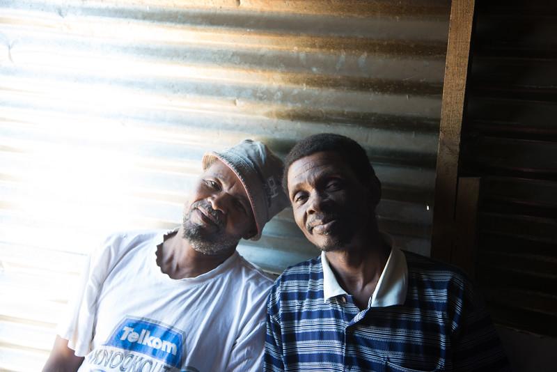 Friends at Langa Township