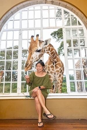Sandi At Giraffe Manor 2