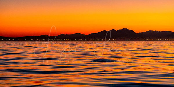 Sunrise False Bay