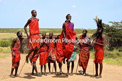 Jumping Maasai
