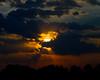 Sunset in spectrum. S Luangwa National Park