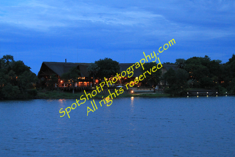 David Livingstone Lodge on Zambezi River, Zambia