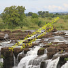 Top of Falls, Zambia side