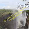 Eastern Cataract of Vic Falls in Livingstone, Zambia