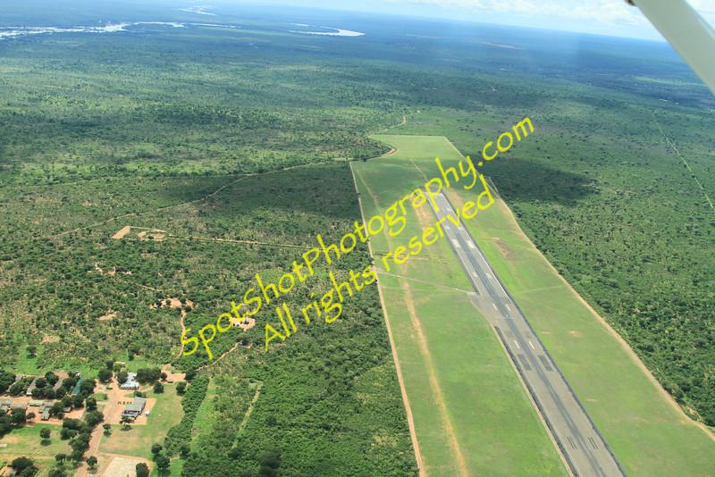 Livingstone, Zambia airstrip