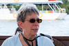 Ann Relaxes On Our Final Cruise