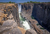 First Look at Victoria Falls from Zimbabwe