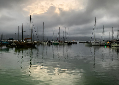 Knysna Bay Evening