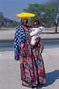 Herero tribe,woman,vrouw,femme,Maun,Botswana