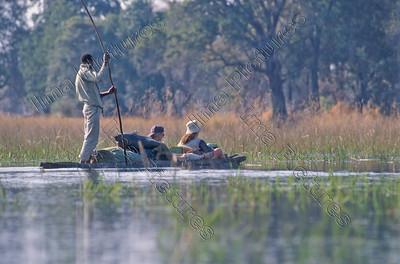 Okavango reserve,reservaat, réserve,tourists,toeristen,Botswana