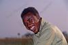 Okavango reserve,reservaat, réserve,man,homme,Botswana