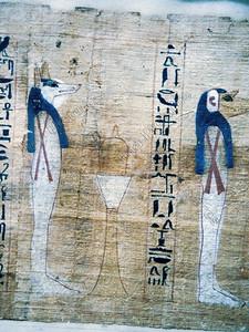 papyrus,Book of the Dead,dodenboek,Le Livre des Morts,Anubis,Sobek