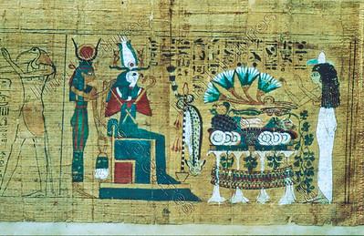 papyrus,Horus