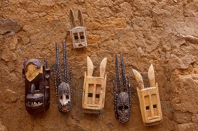 Ende,Dogon,masks,masker,masques