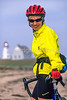Cyclist at Panmure Island Provincial Park, Prince Edward Island, Canada - 9 - 72 ppi