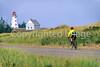 Cyclist at Panmure Island Provincial Park, Prince Edward Island, Canada - 6 - 72 ppi