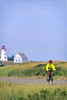 Cyclist at Panmure Island Provincial Park, Prince Edward Island, Canada - 1 - 72 ppi