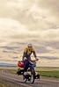 Mountain biker along Iceland's southern coast, Hofn to Reykjavik - 22 - 72 dpi