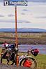 Mountain biker along Iceland's southern coast, Hofn to Reykjavik - 16 - 72 dpi