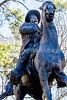 Pancho Villa statue in Tucson, AZ - C1 -0067 - 72 ppi