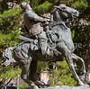 Pancho Villa statue in Tucson, AZ -0001b - 72 ppi