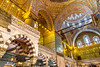 Inside Istanbul's Blue Mosque (under reconstruction) - C2_D5A0123-0123 - 72 ppi