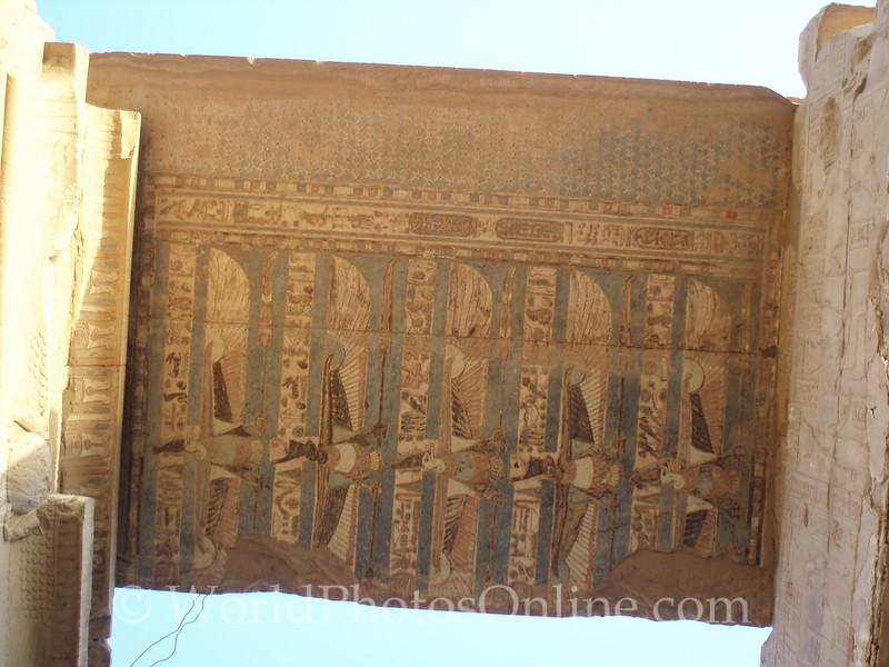 Kom Ombo Temple - Inner Antechamber Ceiling