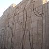Kom Ombo Temple - Roman Reliefs (that's why they are cut so deep)