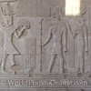 Kom Ombo Temple - Ptolemy XII giving offerings to Sobek