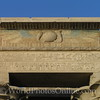 Kom Ombo Temple - Entrance Pediment (with original paint)
