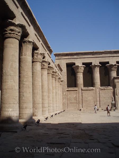Edfu - Temple of Horus - Great Court