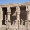 Edfu - Birth House of Horus - Bes headed columns