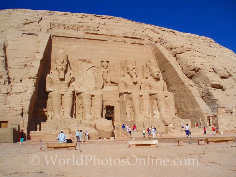 Abu Simbel - Ramses II Temple