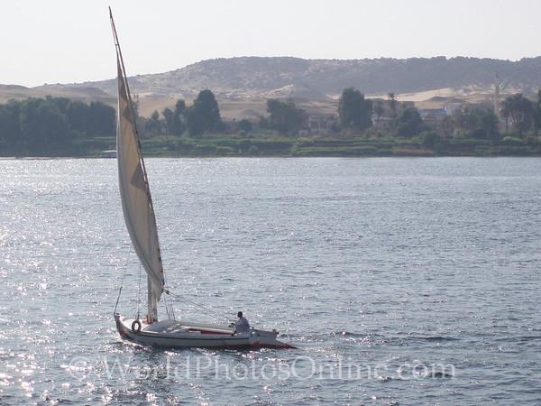 Aswan - Feluccas 1