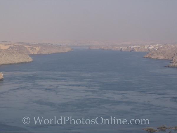 Nile below Aswan High Dam