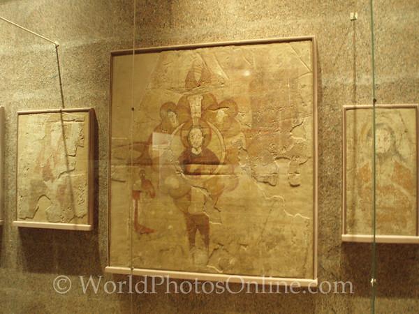 Aswan - Nubian Museum - Frieze from Coptic Church