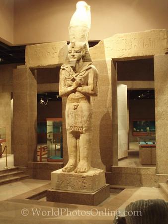 Aswan - Nubian Museum - Nubian Pharaoh