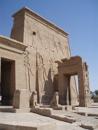 Philae Island - Temple of Isis - First Pylon 1