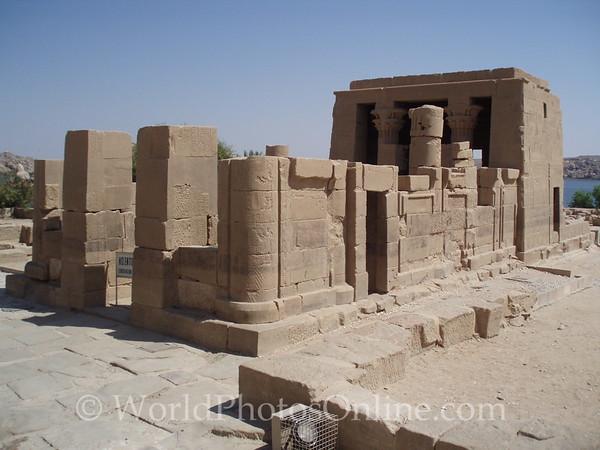 Philae Island - Temple of Hathor
