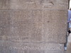 Philae Island - Temple of Isis - Note asking Early Christians to Deface Reliefs